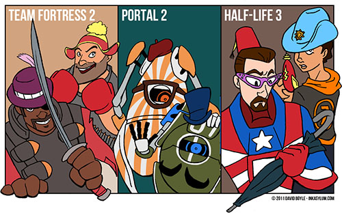 Why I'm not looking forward to Half Life 3...