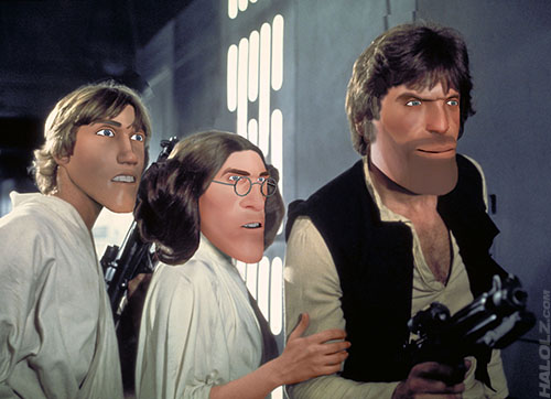 Luke Scoutwalker, Kritzcess Leia & Heavy Solo