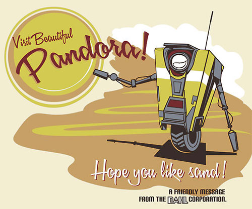 Visit Beautiful Pandora!