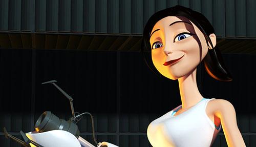 Portal Pixar Style 2