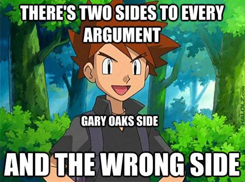 Gary Oak's Side