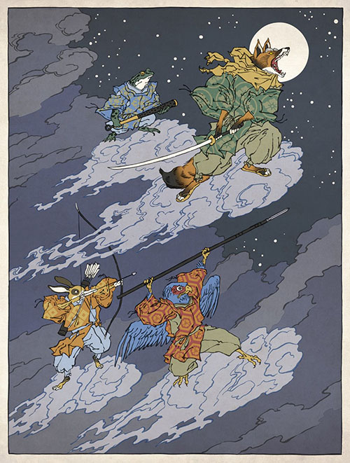 Star Fox Ukiyo-e