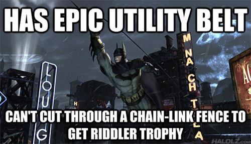 HAS EPIC UTILITY BELT