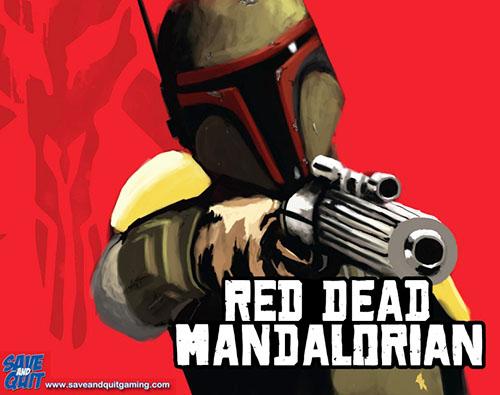 RED DEAD MANDALORIAN