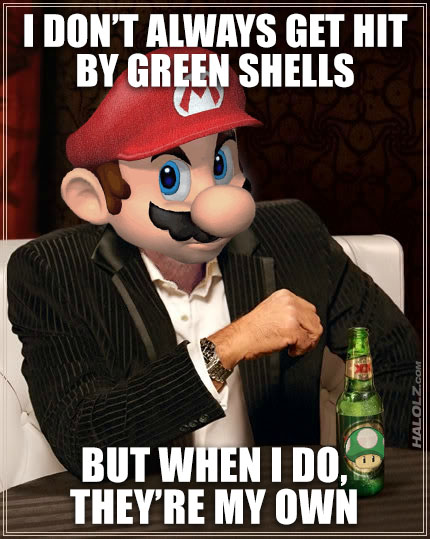 The Most Interesting Mario Karter in the World