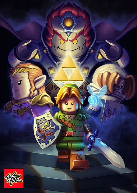 The Lego of Zelda: Ocarina of Time