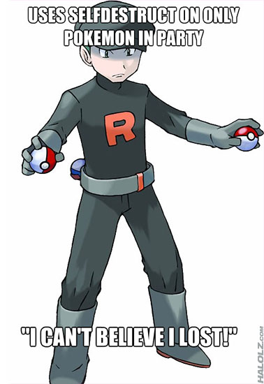 Team Rocket Logic