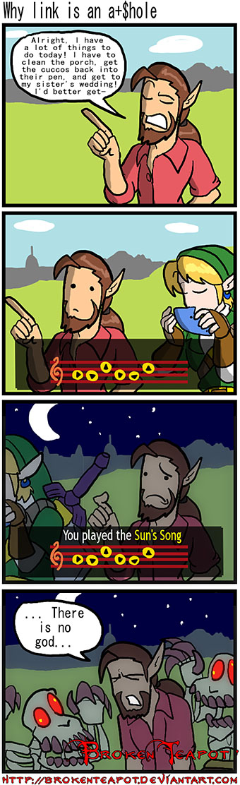 Why link is an asshole