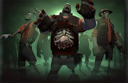 Zombies in Team Fortress 2? Crazy!