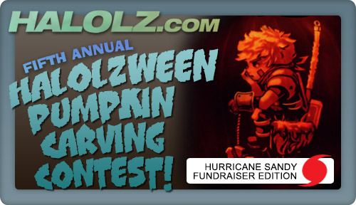 The Fifth Annual Halolzween Pumpkin Carving Contest!