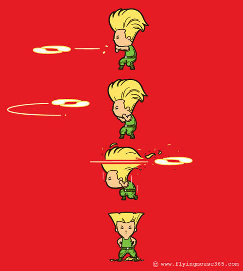Guile's Perfect Haircut