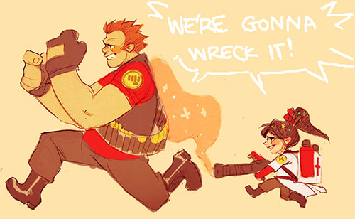WE'RE GONNA WRECK IT!