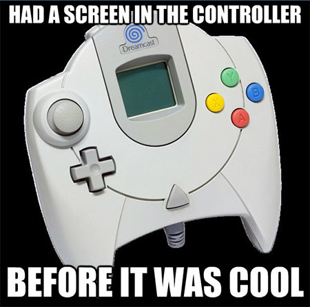 HAD A SCREEN IN THE CONTROLLER BEFORE IT WAS COOL