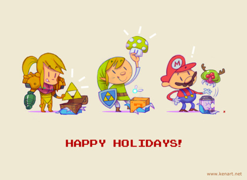 Nintendo Happy Holidays!