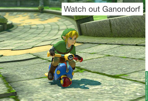 Watch out Ganondorf