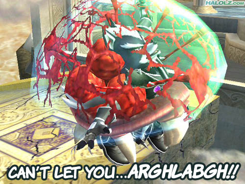CAN'T LET YOU...ARGHLABGH!!